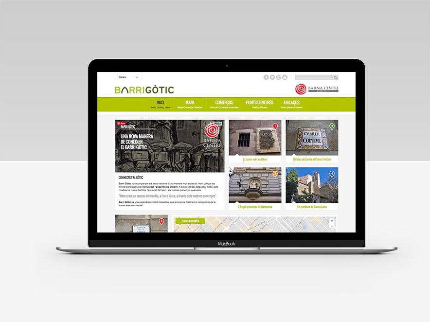 Página Web De Exploracionazul: Pàgina Web Del Barri Gòtic