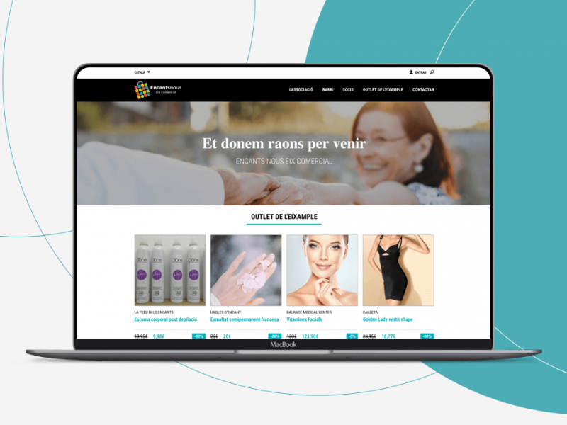 Encants Nous Website